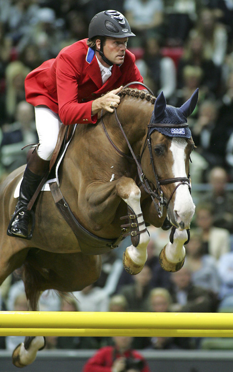 Peter Wylde and Esplanade World Cup 2008 Goteborg. PC - Chronicle of the Horse​​​​​​​​​​​​​​