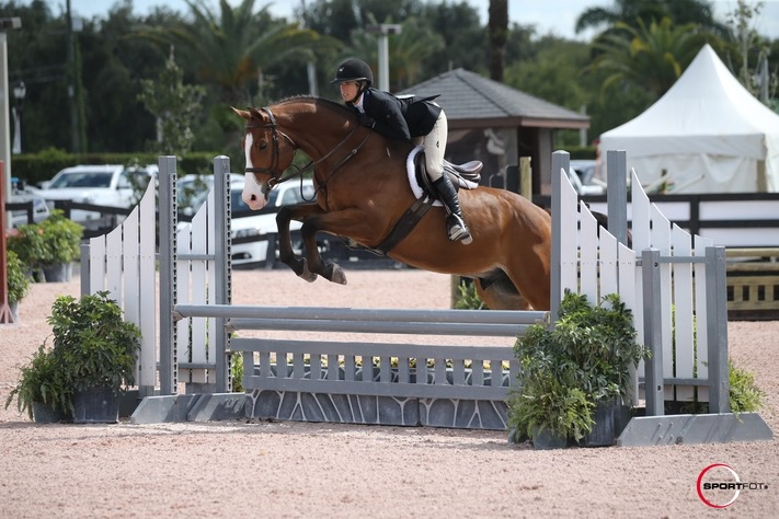 Katha Gatto and Jackson 5, Young Hunters at WEF. Photo Credit Sportfot