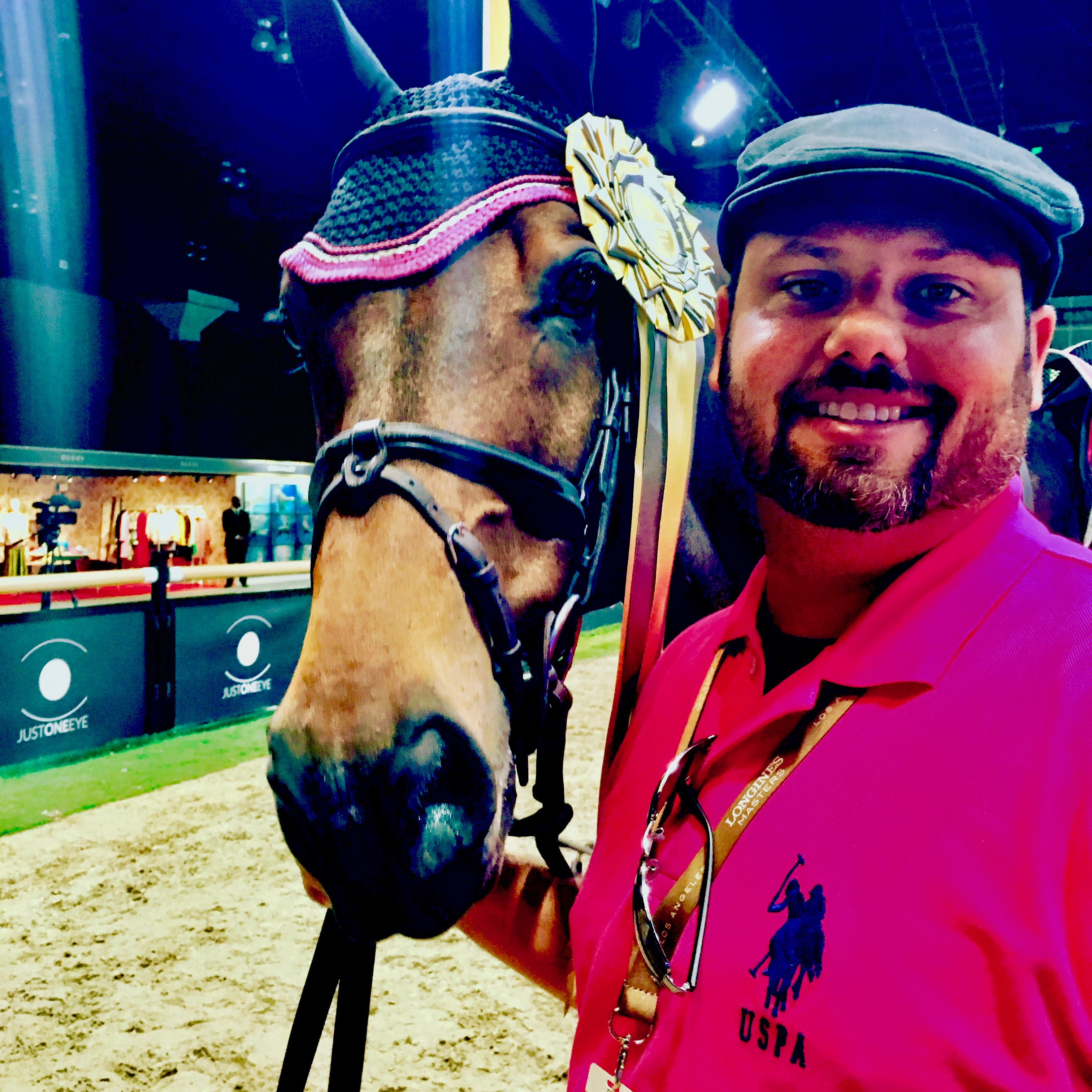 Daran Lockhart and Hopscotch at the Longines Los Angeles Masters in 2015