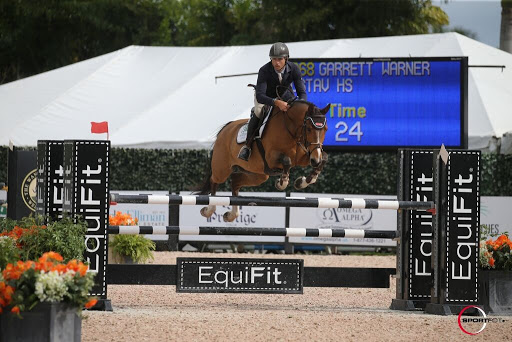 Sale Horse Gustav HS Competing at WEF 2019 | Photo Credit Sportfot
