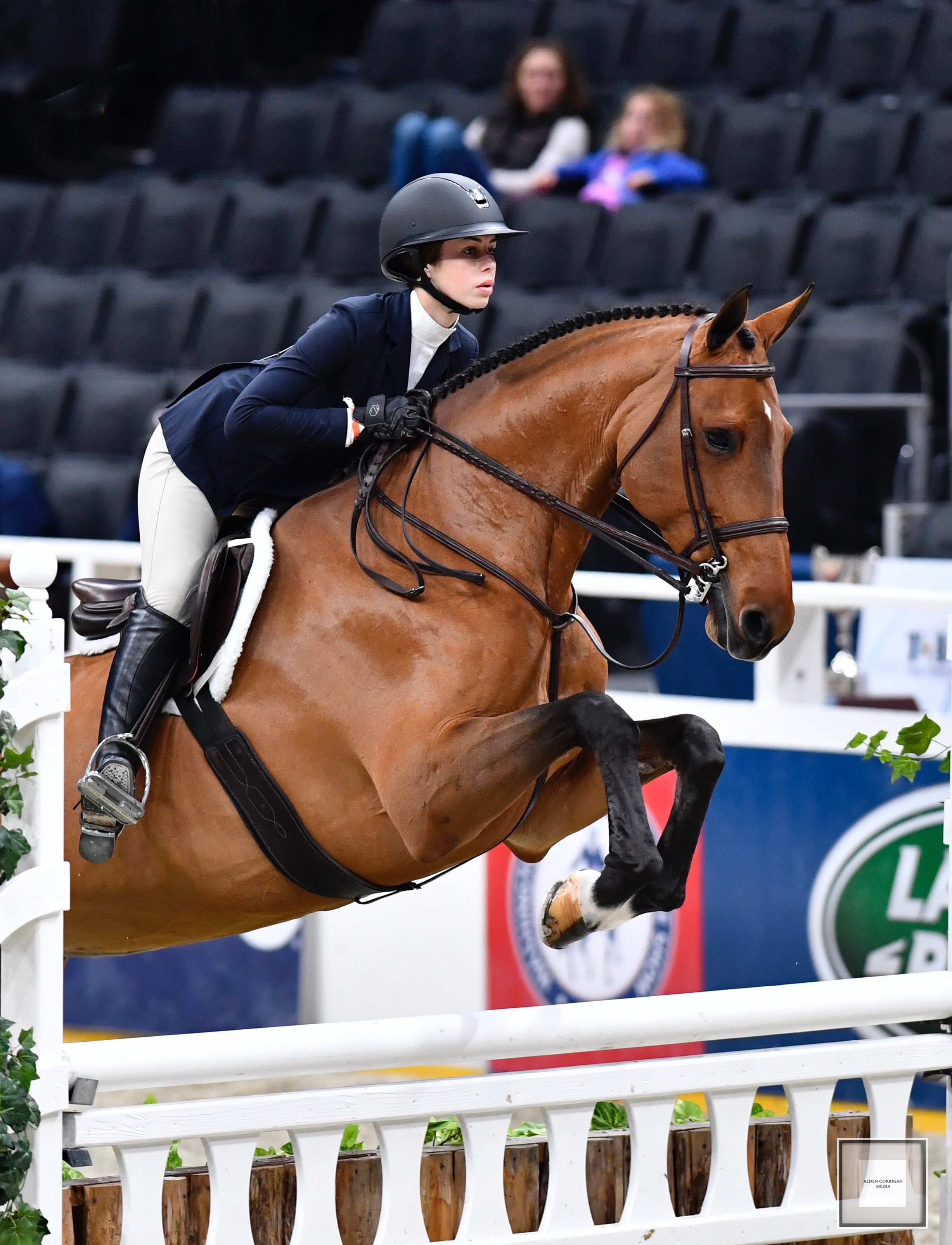 Avery Glynn and Calle at the Washington International Medal Finals. Photography by Alden Corrigan Media​​​​​​​