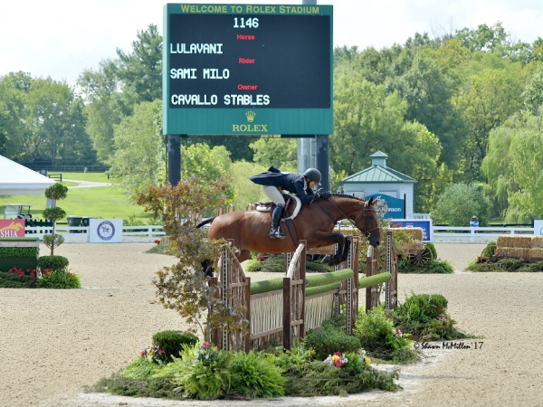 Lulavani in USHJA International Derby Finals in KY
