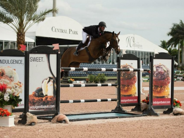 Daniel and Zhivago at the Winter Equestrian Festival in Wellington. Photo: Katherine Hay Coyle.